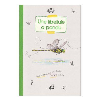 Une libellule a pondu : le recto du livre